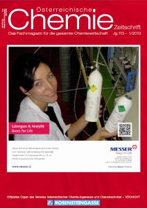 österreichische Chemie-Zeitschrift Ausgabe 01-2013