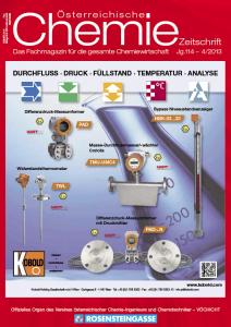 österreichische Chemie-Zeitschrift Ausgabe 04-2013