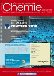 österreichische Chemie-Zeitschrift Ausgabe 01-2010