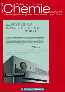 österreichische Chemie-Zeitschrift Ausgabe 06-2014