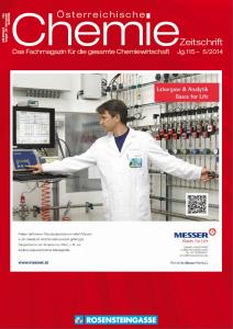 österreichische Chemie-Zeitschrift Ausgabe 01-2015