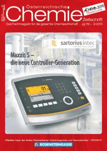 Österreichische Chemie Zeitschrift 03 2015