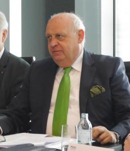 KR Ing. Hubert Culik, Obmann des Fachverbandes der Chemischen Industrie Österreichs