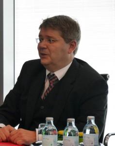 Dr. Ernst Gruber, FCIO Obmann Stv. (Foto: Österreichische Chemie Zeitschrift)