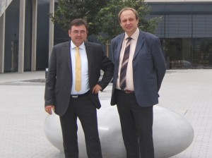 Top-Position bei LAUDA: Max Wild und Dr. Horst Ammon (Foto: LAUDA)