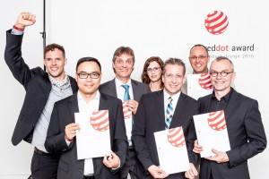 Festo Red Dot 2015 Award - Teamfoto