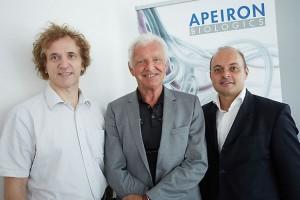 Top Pharmaunternehmen wählt Wiener Biotech-Firma APEIRON Biologics AG für millionenschwere Allianz . Foto: Thomas Preiss