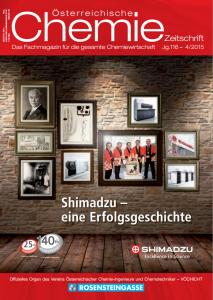 Österreichische Chemie Zeitschrift 04 2015