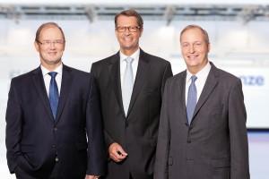 Gruppenfoto LENZE Vorstand