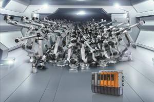 10.000 Roboter im Einsatz: COMAU und B&R Automation   Grafik: B&R