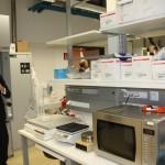 Dr. Darryl McConnell bei der Führung | Foto: Österreichische Chemie Zeitschrift