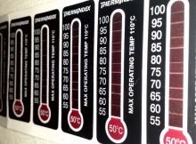 Neue Messstreifen im Programm von Kager: Multilayer-Messfolien THERMINDEX für die Messung von Temperaturen von 0° C bis 50° C (Typ 1) bzw. 50° C bis 100° C (Typ 2). | Foto: Kager