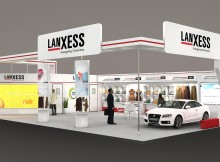 LANXESS auf der International Leather Fair in Indien | Grafik: LANXESS