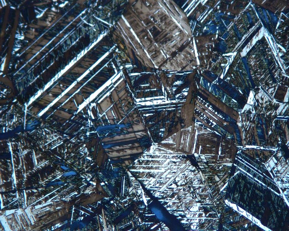 Stahlbild Mikroskop