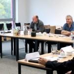 """Sitzung der Arbeitsgruppe """"Studienschwerpunkt Kunststofftechnik"""" im ZWT   Foto: Bye/PHWT"""