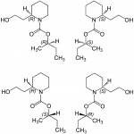 Icaridin Strukturformel   Bild: Wikipedia