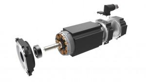 Die CAD-Daten für B&R-Motoren und -Getriebe lassen sich bequem mit dem webbasierten Konfigurator erstellen. | Grafik: B&R