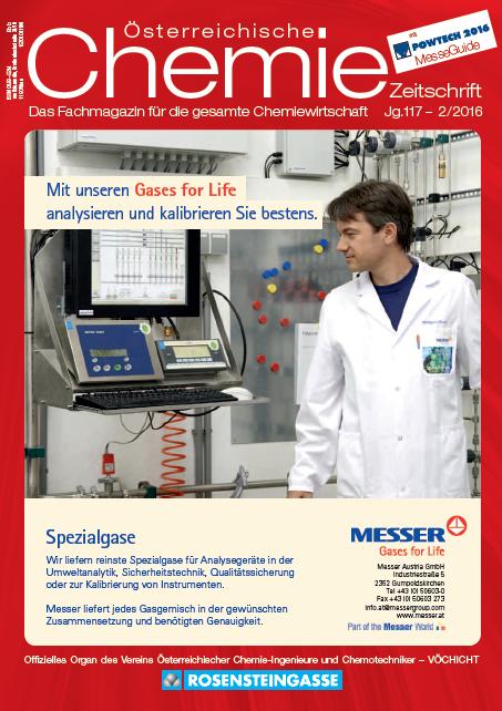 Österreichische Chemie Zeitschrift, Ausgabe 02, 2016