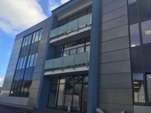 Das neue, im Januar 2016 fertiggestellte Verwaltungsgebäude | Foto: L&R Kältetechnik