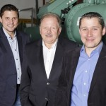 L&R Geschäftsführung: (v.li.) Sebastian Rüßmann, Burkhard Rüßmann, André Rüßmann | Foto: L&R Kältetechnik
