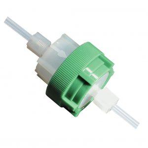 Filterhalter aus PFA – die einfache Systemlösung für die In-Line Filtration mit PTFE-Filtermembranen | Foto: Reichelt Chemietechnik