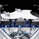 SupraGripper: Die räumliche Trennung von magnetischem Greifer und supraleitendem Antrieb eröffnet völlig neue Lösungsmöglichkeiten zum Beispiel in äußerst reinen Umgebungen. | Foto: FESTO