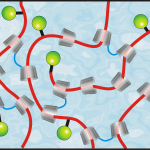 Umweltfreundliche, ringförmige Cyclodextrine aus Maisstärke (grau) bilden die Grundlage des Autolackes, der Kratzer von selbst repariert. | Foto: Universität des Saarlandes