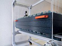Die Elektrolysezelle ePhos gewinnt Stickstoff und Phosphor rein elektrochemisch. | Foto: Fraunhofer IGB