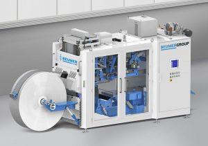BEUMER fillpac FFS – die Form-Fill-Seal-Anlage zeichnet sich laut Hersteller durch hohe Durchsatzleistung, Verfügbarkeit und kompakte Bauweise aus. | Foto: BEUMER Group