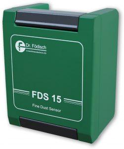 FDS-15 - Obwohl im Außenbereich Grenzwerte für Feinstaub festgelegt wurden, wird die Einhaltung in Innenräumen von Unternehmen bisher nur sehr selten überprüft, da die Geräte oft zu unhandlich und zu teuer waren. Deshalb hat die Dr. Födisch Umweltmesstechnik AG den FDS 15 entwickelt, der einfach zu bedienen ist und in jeder Umgebung installiert werden kann. | Foto: Dr. Födisch Umweltmesstechnik AG