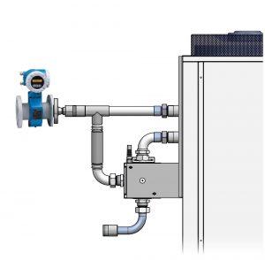Der Huber PR124 - Durchflussmesser | Foto: Peter Huber Kältemaschinenbau GmbH