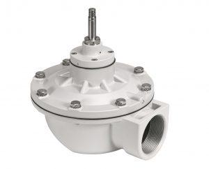 Effizient: Das Pulsventil VZWE von Festo reinigt Entstaubungsanlagen mit einem kurzen Luftstoß. | Foto: Festo