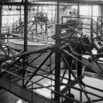 Eindicker im Uerdinger Eisenoxidbetrieb 1 im Jahr 1929 - drei Jahre nach Produktionsstart. |Foto: Bayer AG