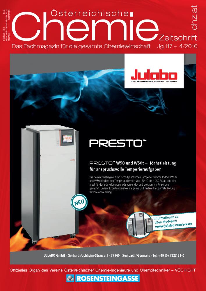 Österreichische Chemie Zeitschrift, Ausgabe 04, 2016