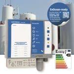Der neue AFRISO Leckanzeiger Eurovac NV ist für geeignete doppelwandige Stahltanks sowie für alle Behälter mit Leckschutzauskleidung nach EN13160-1 zugelassen und über ein nachrüstbares EnOcean-Funkmodul in Smart-Home integrierbar. Im Alarmfall erhält der Betreiber eine Meldung auf sein Smartphone, worauf sofort Maßnahmen eingeleitet werden können.   Foto: AFRISO