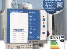 Der neue AFRISO Leckanzeiger Eurovac NV ist für geeignete doppelwandige Stahltanks sowie für alle Behälter mit Leckschutzauskleidung nach EN13160-1 zugelassen und über ein nachrüstbares EnOcean-Funkmodul in Smart-Home integrierbar. Im Alarmfall erhält der Betreiber eine Meldung auf sein Smartphone, worauf sofort Maßnahmen eingeleitet werden können. | Foto: AFRISO