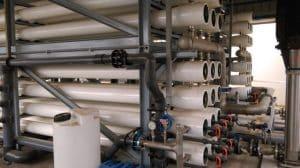 Das Oberflächenwasser des Nils wird in der Wasseraufbereitungsanlage von Alexfert per Umkehrosmose mit insgesamt 228 Membranelementen vom Typ Lewabrane B400 FR vorbehandelt und mit Ionenaustauschern der Marke Lewatit MonoPlus vollentsalzt. | Foto: Alexfert