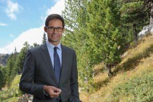 Vorstandsvorsitzender Dr. Stefan Doboczky | Foto: Franz Neumayr / Lenzing AG