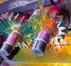 Tests der internationalen Forschungsstelle für Zahnräder und Getriebebau (FZG) gelten als Industriestandard. VISCOBASE® 11-522 hat den FZG-Test bestanden. | Foto: Evonik Industries