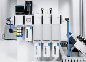 Ideale Druckluftaufbereitung: mit vorkonfigurierten Wartungsgeräte-Kombinationen Baureihe MS, die sich in der Praxis bewährt haben. Bestellbar mit nur einer Teilenummer. | Foto: Festo