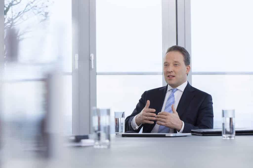 Matthias Zachert, Vorstandsvorsitzender der LANXESS AG über den Ausbau des Materialschutzgeschäftes | Foto: LANXESS