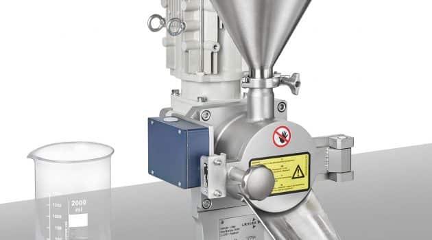 Die kleinste Maschine der Firmengeschichte von Lödige, ein Pflugschar®-Labormischer Typ L 1, kommt im High-Containment-Bereich zum Einsatz. | Grafik: Lödige