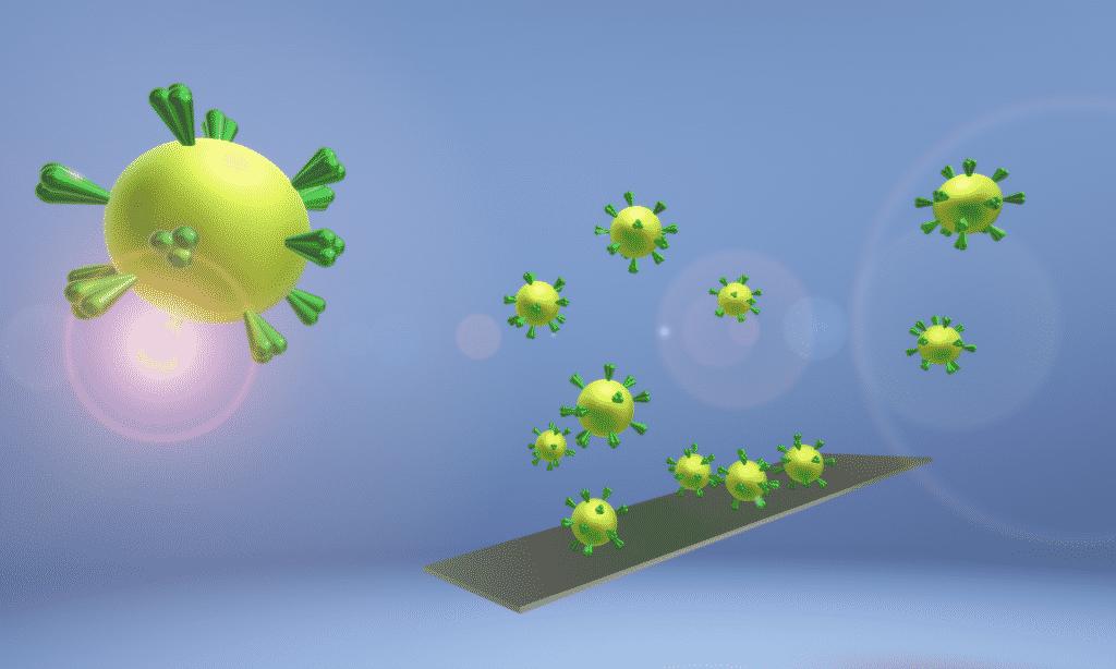 Covid-19: Kontaminierte Oberflächen als Risikofaktor