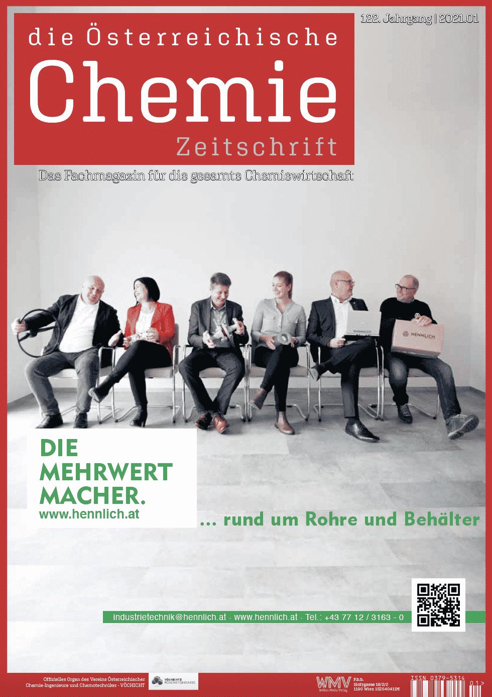 Österreichische Chemie Zeitschrift, Ausgabe 01, 2021
