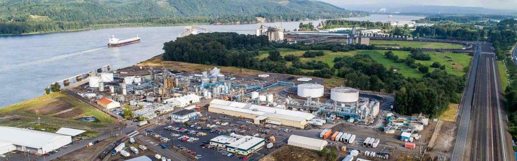 Emerald Kalama Chemical: Produktionsstandorte in Kalama/Washington (USA) | Foto: Emerald Kalama Chemical