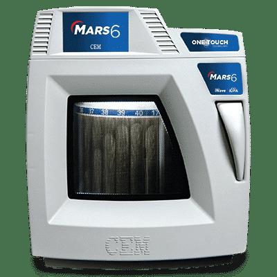 MARS 6 - Mikrowellen-Laborsystem von CEM   Foto: CEM