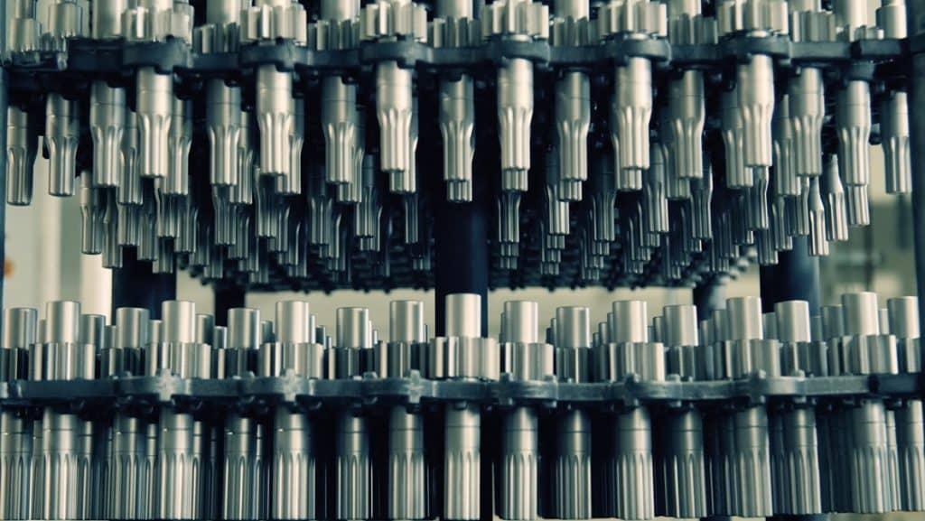 Hydraulikkomponenten von Shimadzu   Foto: Shimadzu