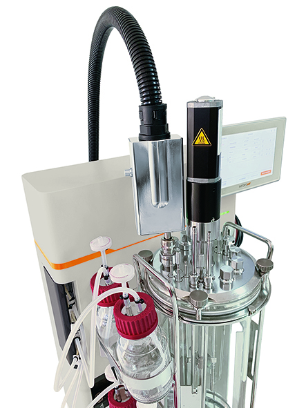 Die sichere Messung wichtiger Prozessparameter mittels Sensoren erfolgt unter sterilen Bedingungen über die optische Schnittstelle. | Foto: SCHOTT