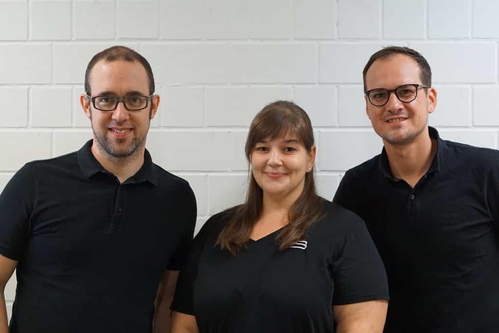 BOXLAB Team Mischa Feig, Lisa Raschke, Marcel Schütz, von links nach rechts. | Foto: BASF