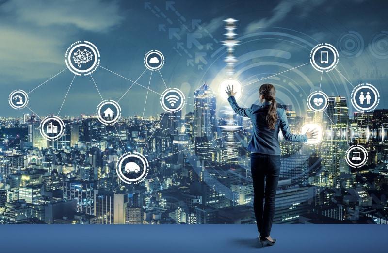Internet of Things und intelligente Systeme | Grafik: FHTW